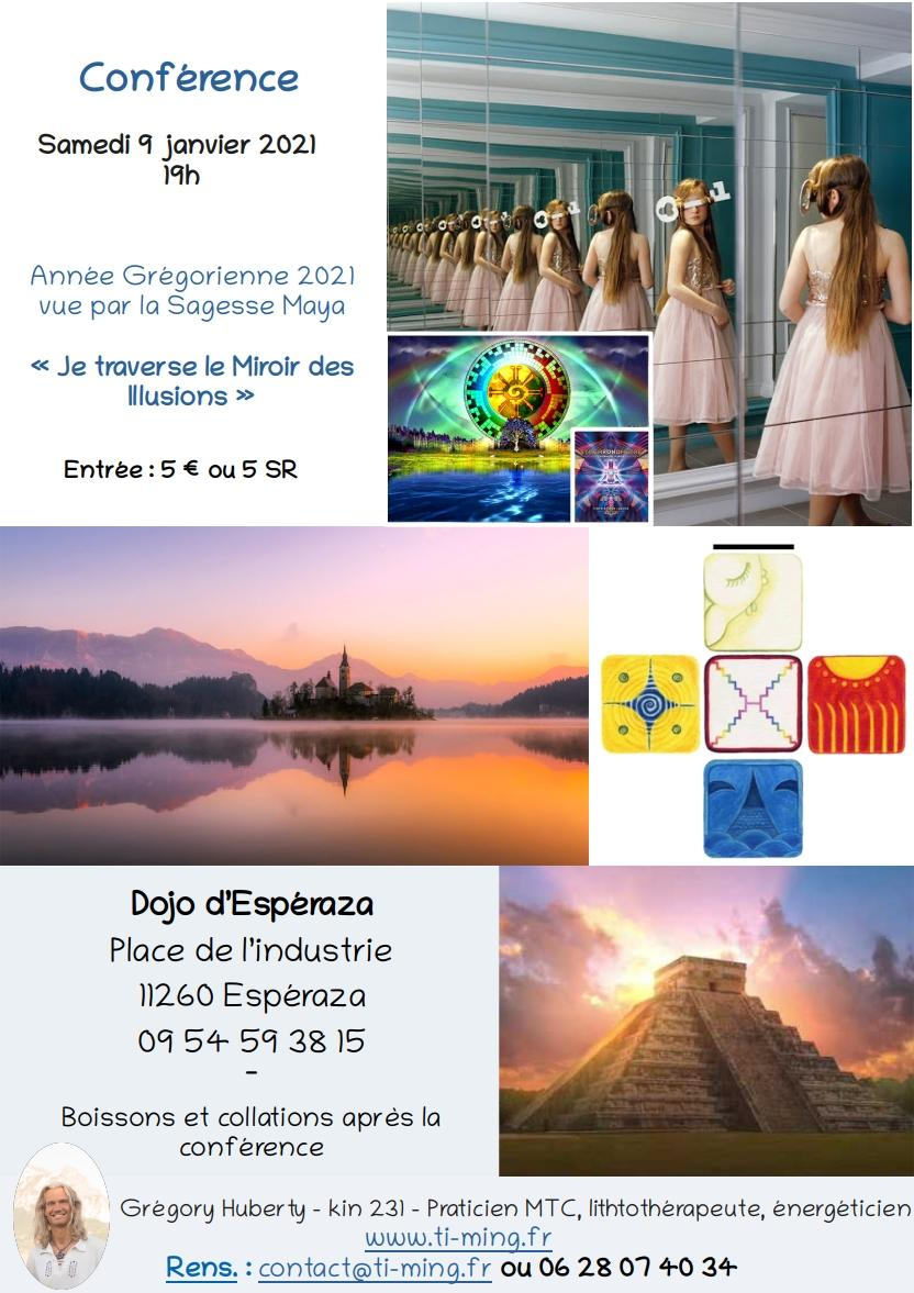 2020 flyer conference miroir blanc dojo esperaza