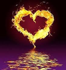 Coeur eau feu