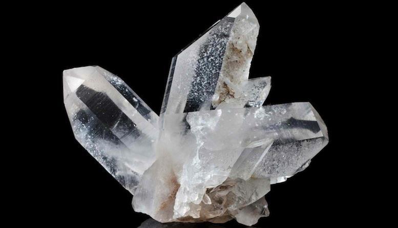 Quartz cristal de roche lithotherapie