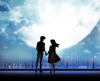 Romantic couple 1